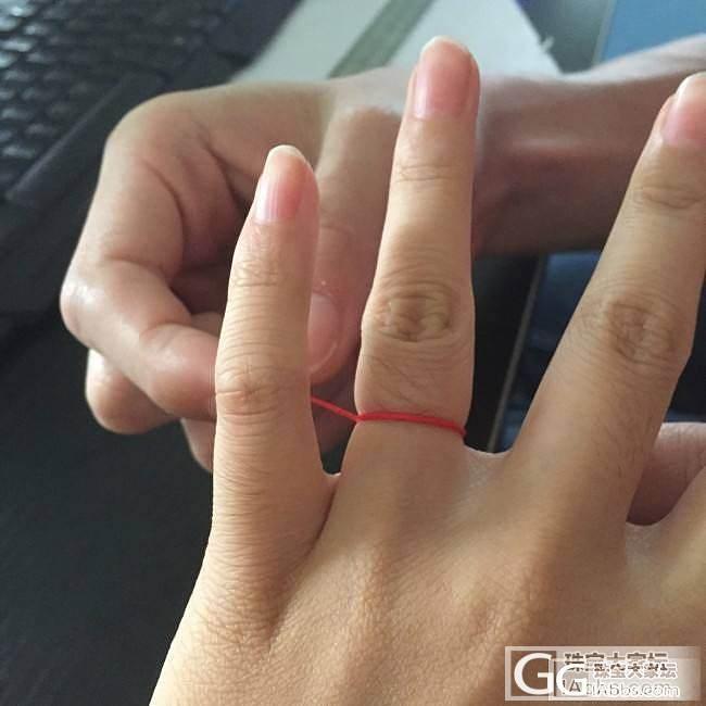 网购戒指再也不用担心不知道自己的尺寸啦_珠宝