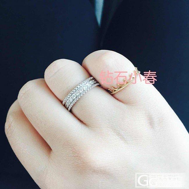 全新复古整圈永恒戒指~_钻石小春