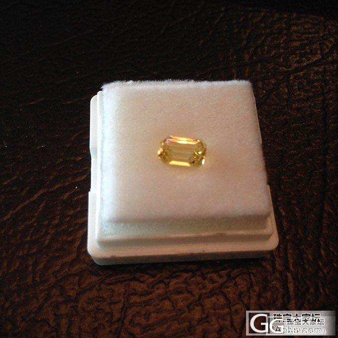 斯里兰卡黄蓝宝,无烧,1.21ct_蓝宝石刻面宝石
