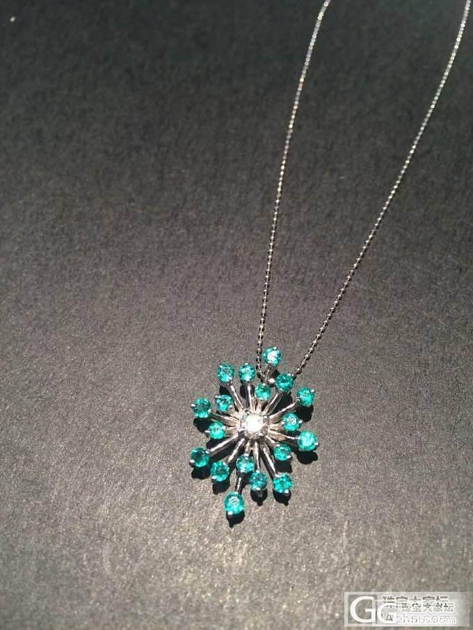 18颗哥伦比亚vivid green祖母绿钻石项链_祖母绿吊坠刻面宝石
