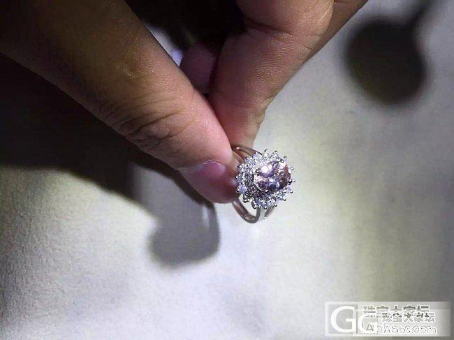 摩根石也很养眼。 1.20ct 钻0.677ct/38。18k 4.449克。_摩根石刻面宝石