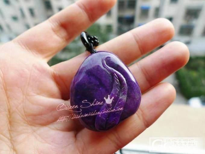 品相完美的苏纪石/舒俱来花开富贵大牡丹花~糯种紫罗兰色,超水润~_宝石
