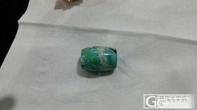 湖北十堰原矿高瓷绿松石桶珠,豁出去了,70/g,出不去就不出了_文玩