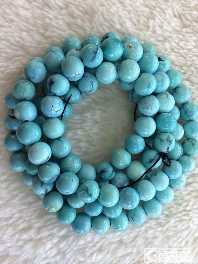 一条同瓷度的绿松_传统玉石
