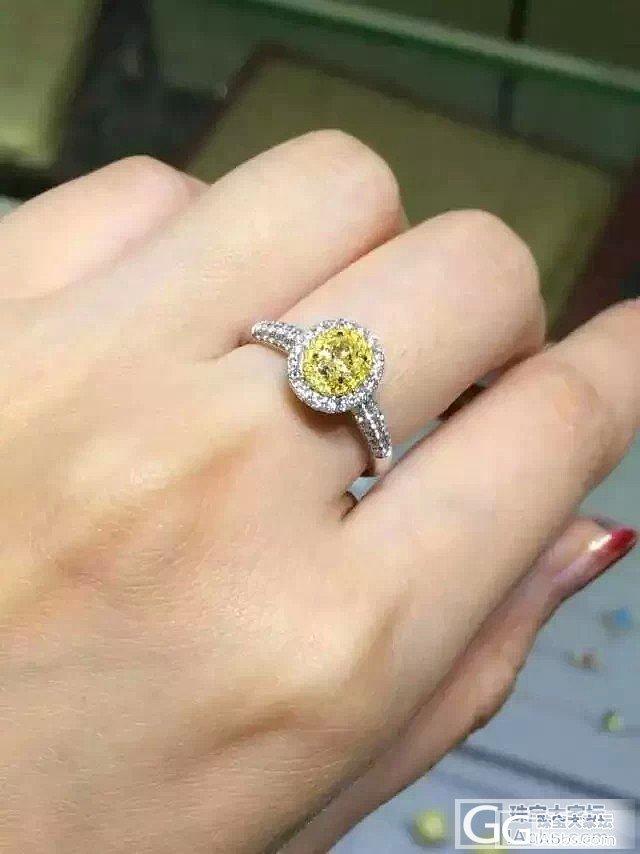 黄钻一枚,9800元最新到货。还有巨型克拉,两克拉和三克拉的都有。_钻石
