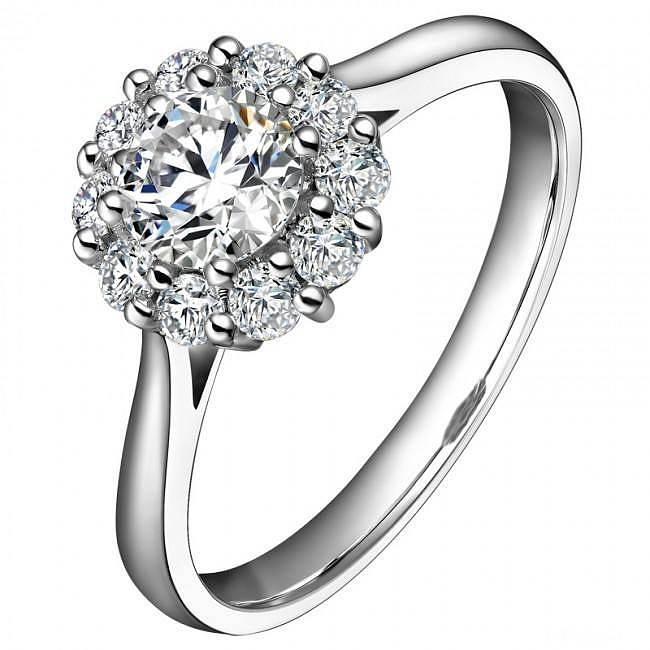 3克拉效果群镶钻戒,豪华大气,仅需16999元_珠宝