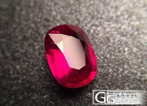 【宝石百科】7月生辰石——红宝石_莫桑石名贵宝石
