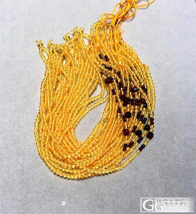【函函家】福利价琥珀3.3毫米可拆卸金珀挂链_函函家玉石铺