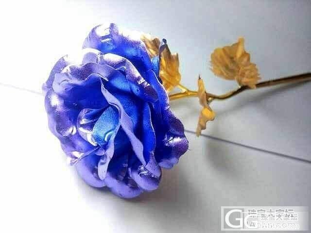 情人节玫瑰。虽然还没到但是已经入手先啦_金