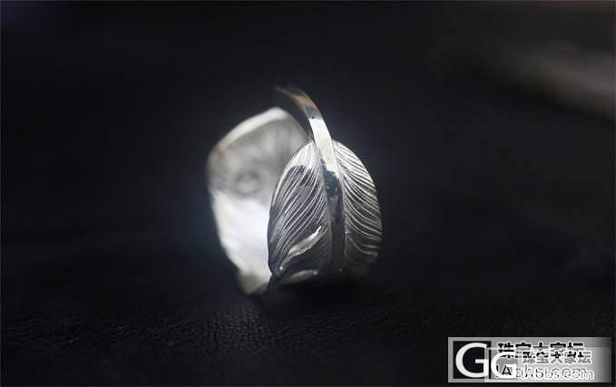 高侨羽毛戒指。手工复刻_珠宝