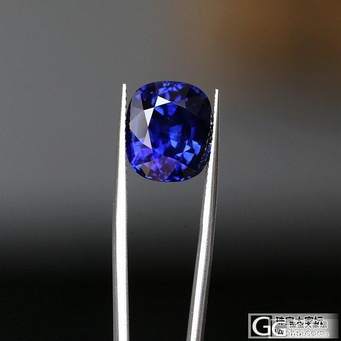 古柏林给马达加斯加开的皇家蓝蓝宝石证书_蓝宝石刻面宝石