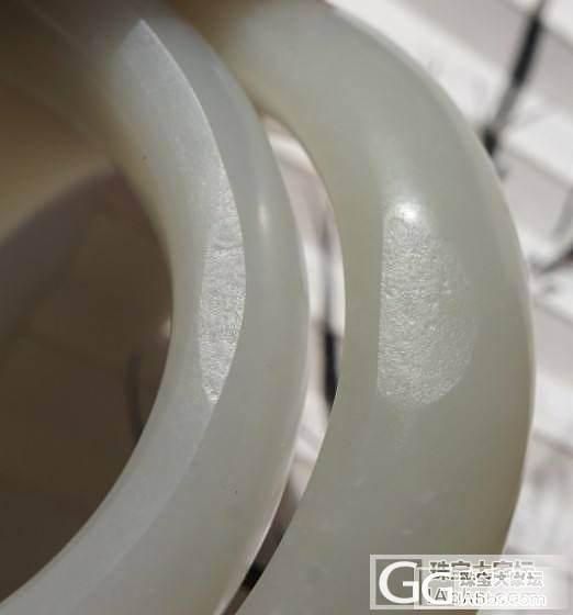 和田籽料57.2素镯双骄_珠宝