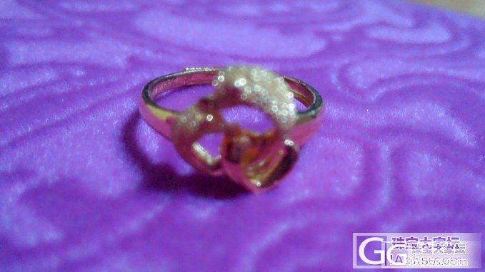 我的第一个金戒指~求闪闪。_戒指金