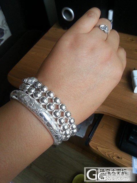 ***团的银珠子 8mm银珠佛珠_珠宝