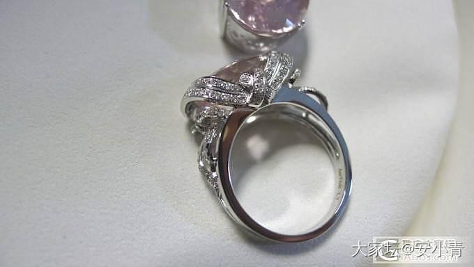 送给我心爱的王家二**的结婚礼物~{补戒指正面照}_摩根石刻面宝石