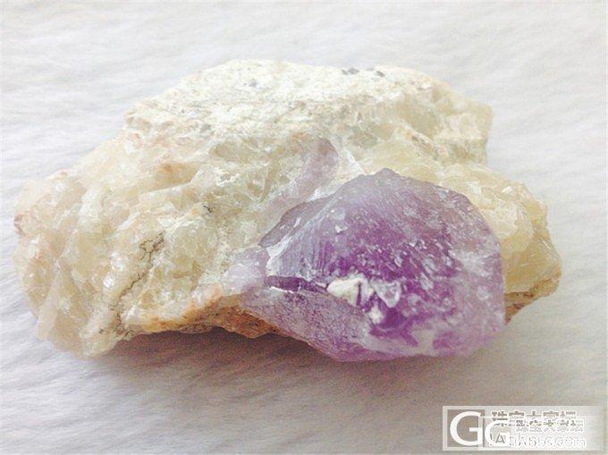 第二弹紫水晶原矿标本大家来看看吧_水晶