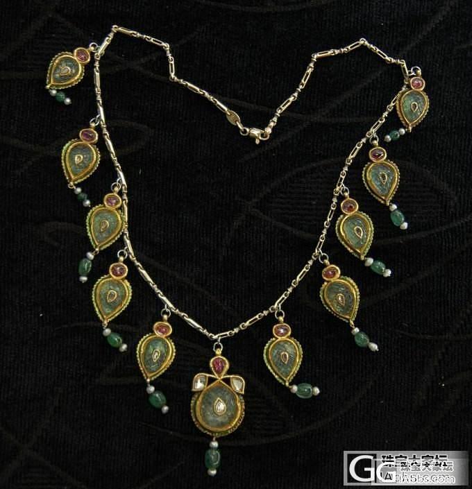 印度18世纪古董项链?_名贵宝石