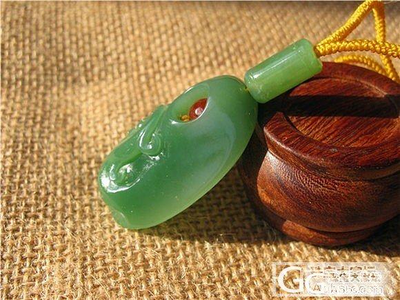 【碧水有玉】和田玉 俄料 仿古龙 950元_传统玉石