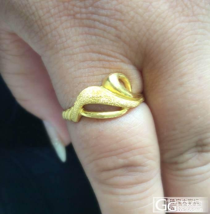 新换的戒指,名字很霸气~~_戒指金