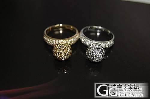 独特的球球满钻戒指,一对姐妹花,撒花_钻石