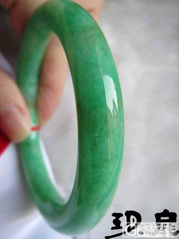 【无艳·扉玥】12.4.阳绿靓色圆条手镯及冰种黄加绿如意大招财_翡翠