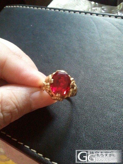 30年以上的老宝石戒指求教是什么?_红宝石