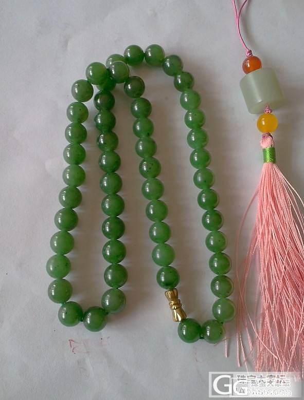 筹米出几条碧玉项链-----有一条是帮朋友出的_传统玉石