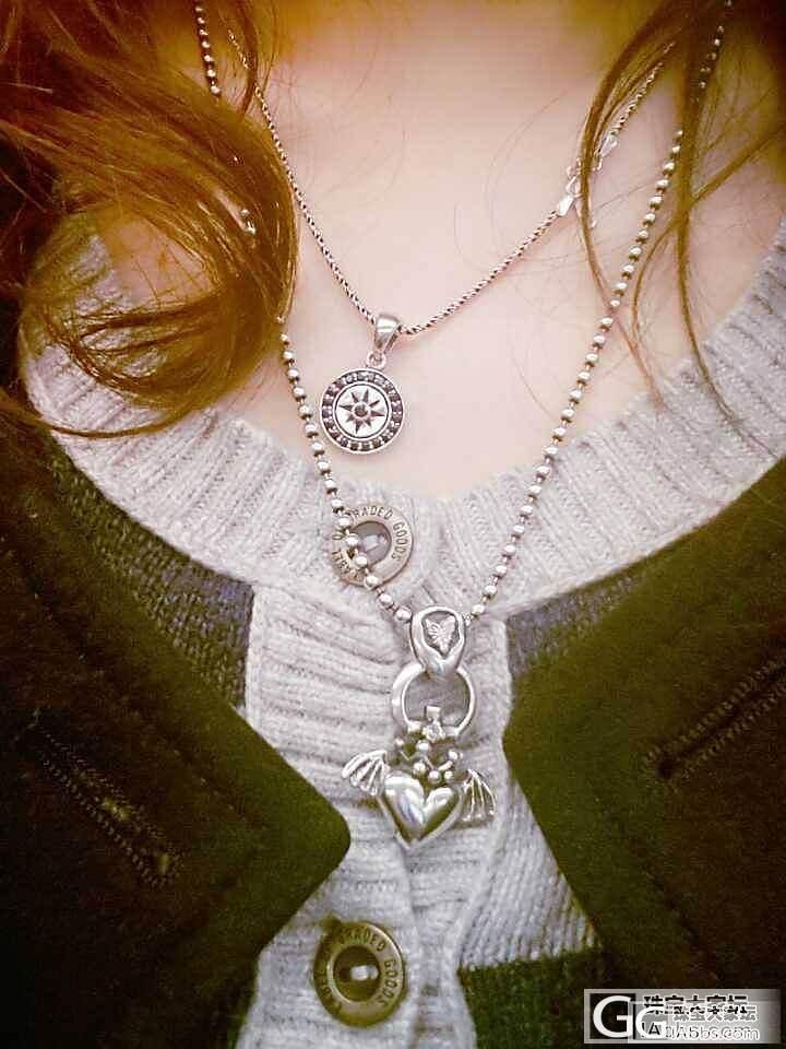 我也晒晒pandora和新入的项链_手链项链银