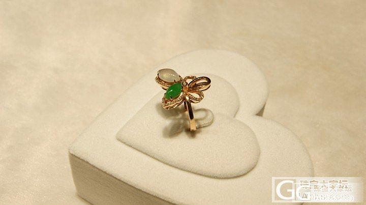 好漂亮的翡翠镶嵌嘞,_珠宝