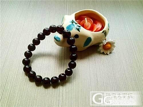 第一次在这里发帖,朋友送的酒红色手链,情谊在就是最爱!_石榴石