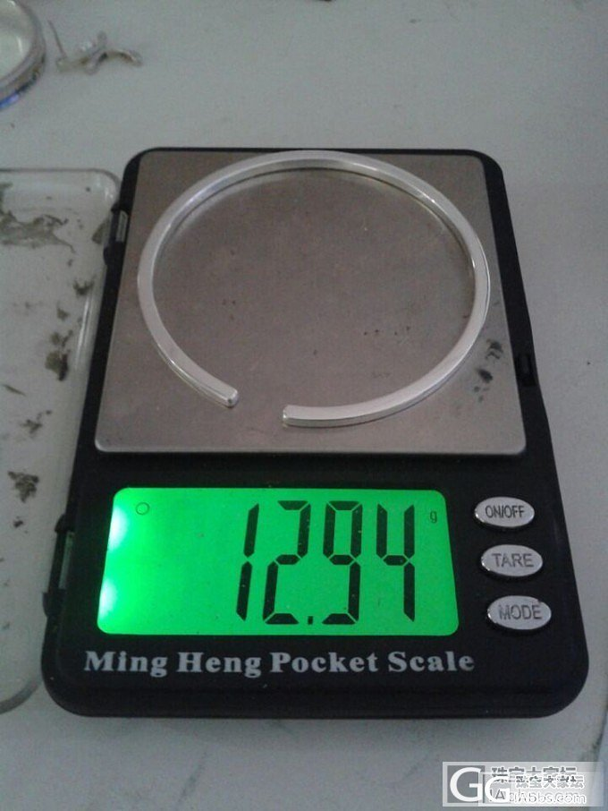 筷子镯的银版型_金福利社