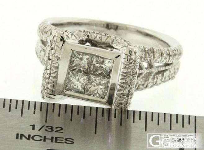 带客户出一枚钻戒_钻石