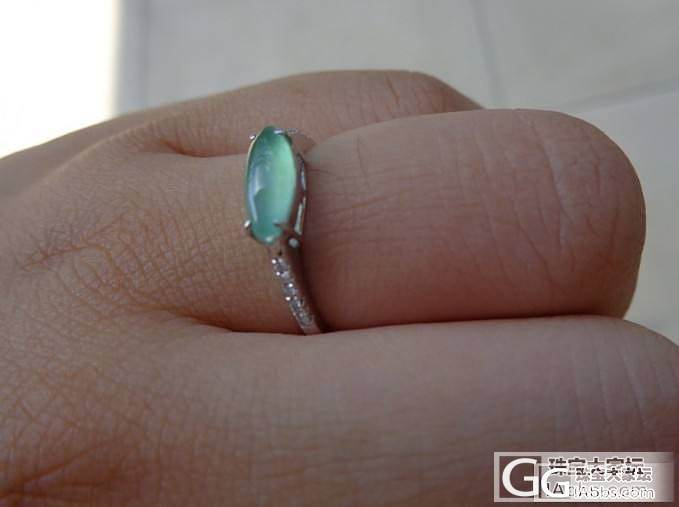 转18K玫瑰金镶嵌黄翡小猫戒指、18K白金镶嵌木拿马眼戒指、小清新绿戒指、和田玉宝宝锁_翡翠