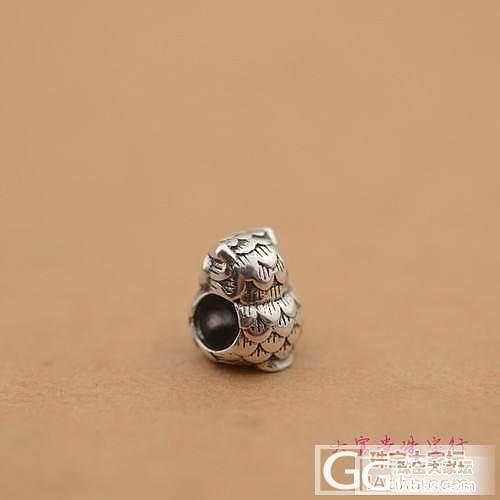 925泰银DIY配件-------------猫头鹰_银