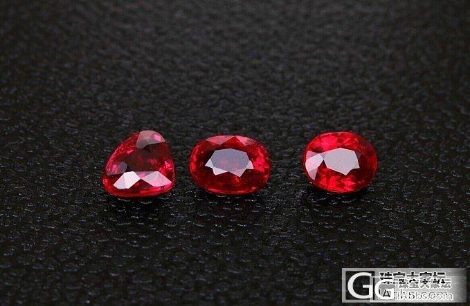 无烧莫桑红宝石,1克拉左右_红宝石