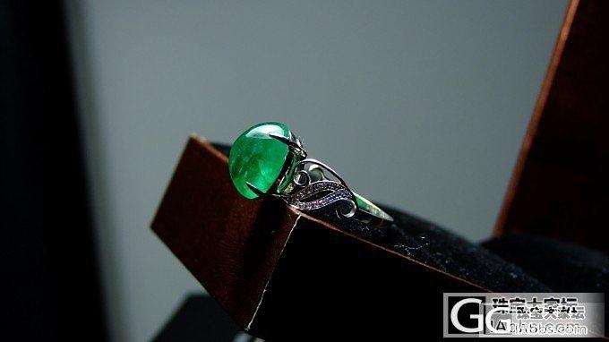 估价:这个是我前几年买的大祖母绿戒指_祖母绿