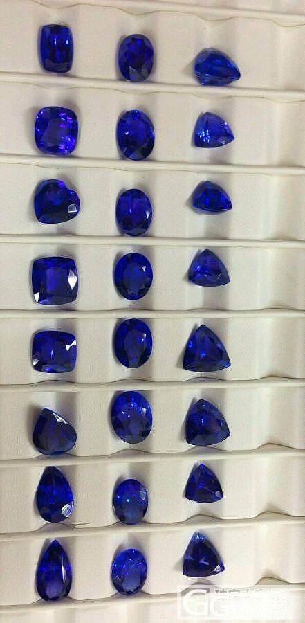 这是颜色切割极其好的坦桑石。6到8克拉_珠宝