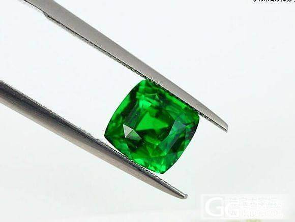 我的铬钒钙铝榴石。就是莎莎。沙弗莱宝石。好看吗_珠宝
