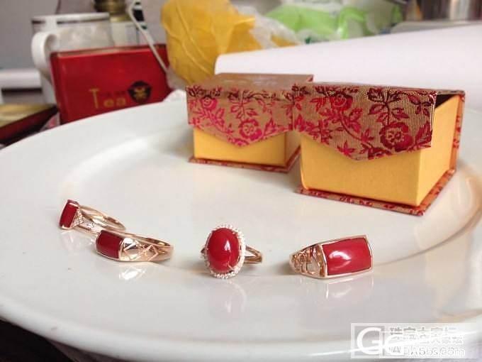阿卡戒指。很美艳高贵。_珠宝