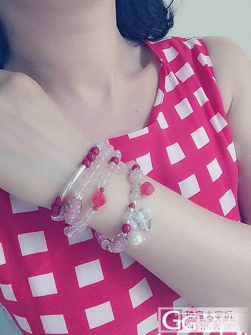 来晒晒我的原创设计水晶项链~_珠宝