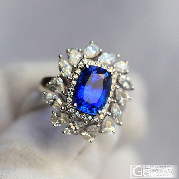 3.26豪华蓝宝石戒指吊坠两用!收藏级!_珠宝