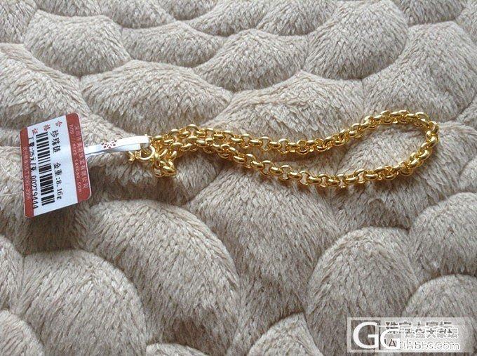 闪闪亮亮的珍珠链_手链金