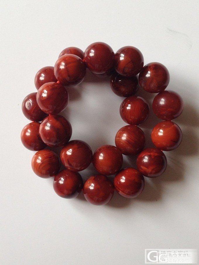转闲置两条南红的手链2条_传统玉石