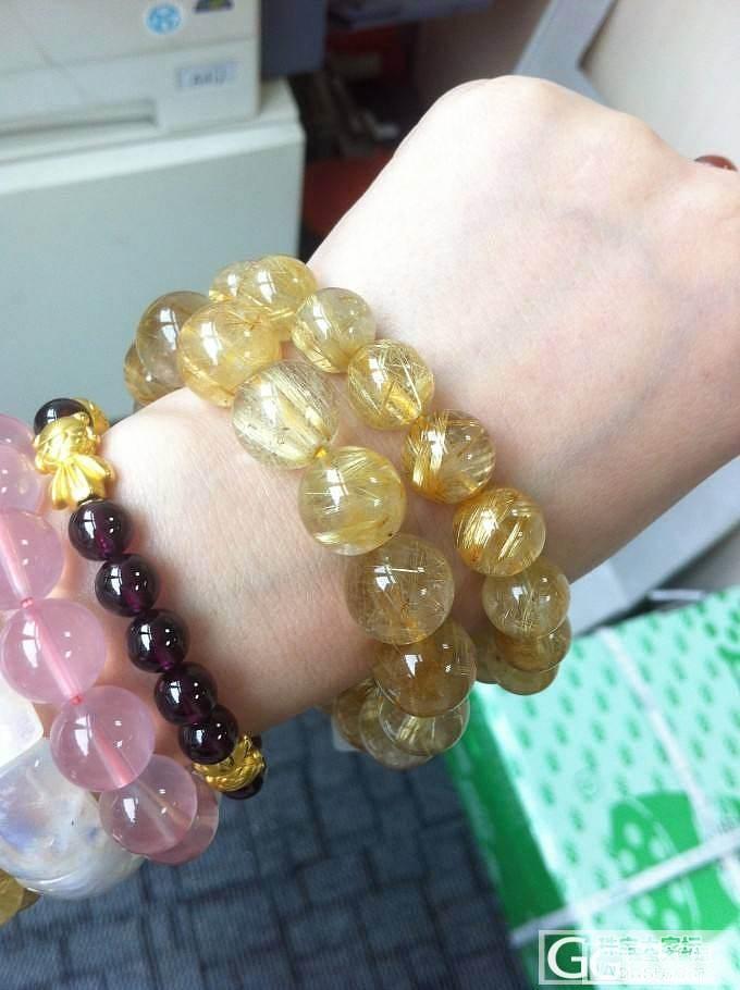白体金发晶情侣手链一对 钛晶情侣手链一对 全猫眼发晶手链一条_宝石