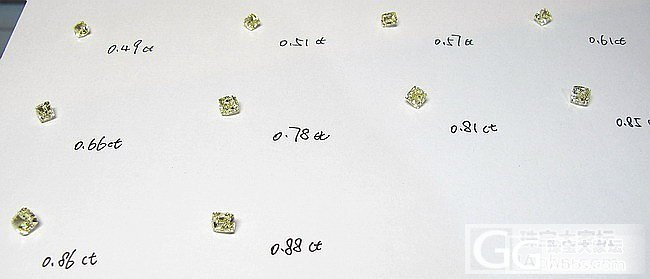 0.27ct-0.88ct国检彩钻到货咯~_乐钻珠宝彩钻