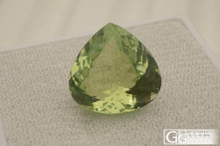 发两颗绿色小清新,一个11.5ct,一个4.5_碧玺刻面宝石