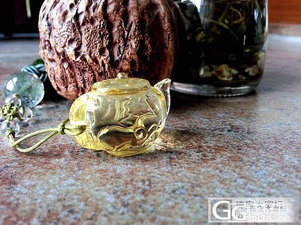 萌萌哒的小茶壶。。_琥珀