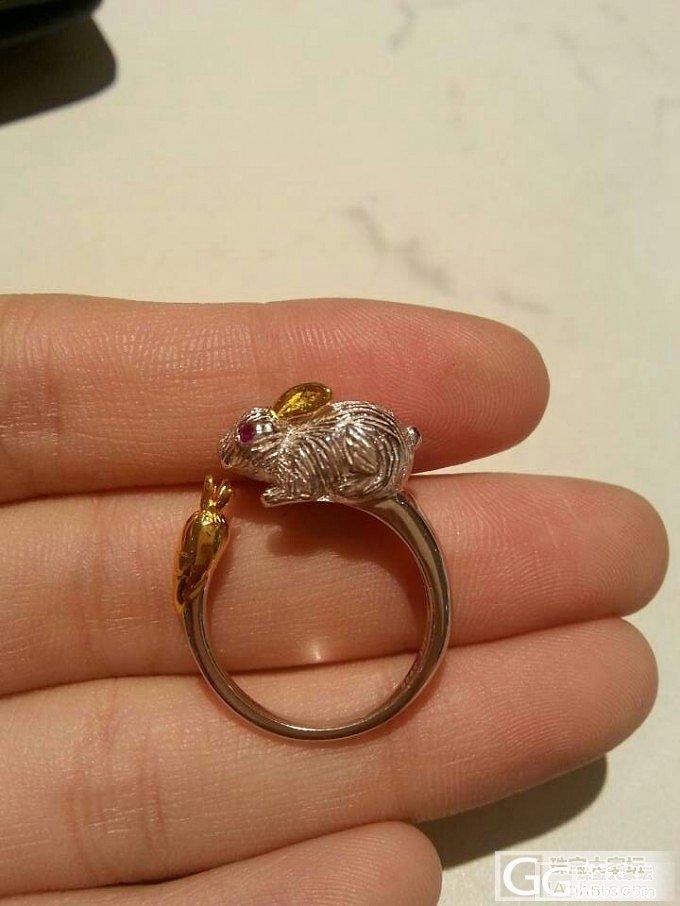 亚博特家的小兔子戒指(我是第一个收到的吗?!)_戒指银