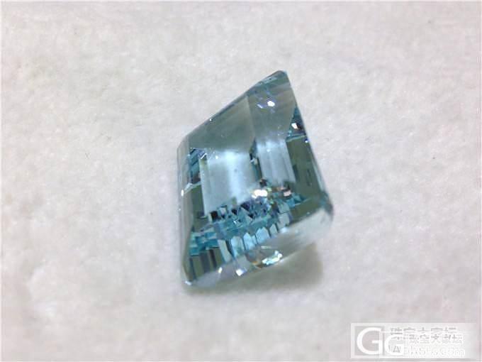 小白问问4年前左右进的海蓝宝,98.4ct 干净 但是颜色浅_珠宝