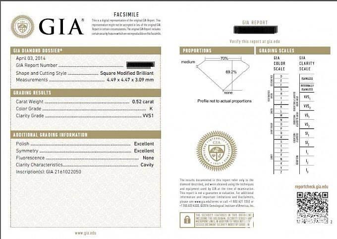新版GIA证书没有CUT?_钻石